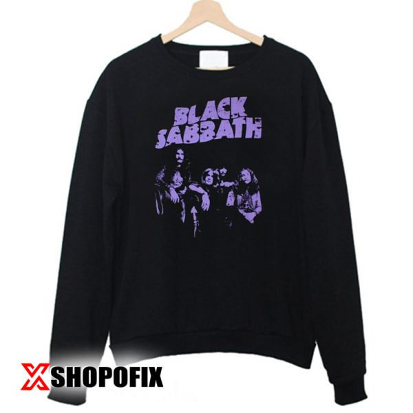 BLACK SABBATH BAND logos Sweatshirt