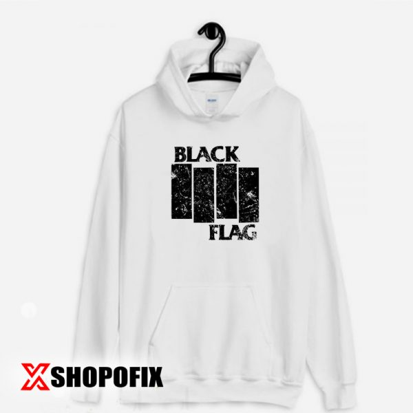Black Flag American punk rock band Hoodie