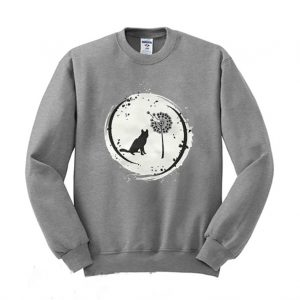 Never stop reaching for your dreams Cat lovers Sweatshirt