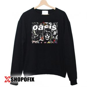 OASIS Collage Rock band Sweatshirt 300x300 - Home