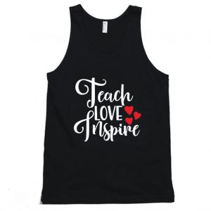 Teach Love Inspire Gift forTeacher Tanktop 300x300 - Home