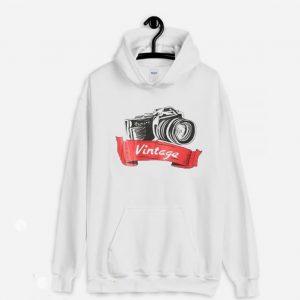 Camera Vintage Hoodie