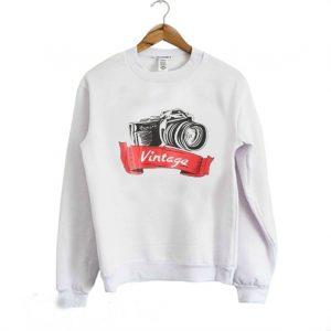 Camera Vintage Sweatshirt