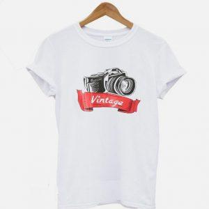 Camera Vintage T-Shirt