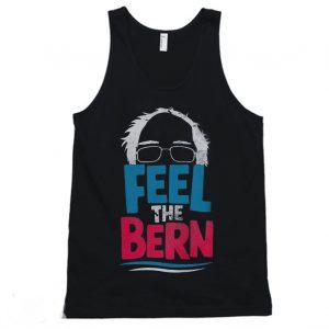 Feel The Bern Bernie Sanders 2020 Bernie Hair Vote President Tanktop