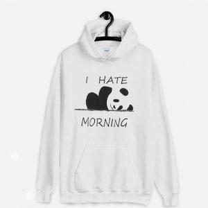 I Hate Morning Hoodie