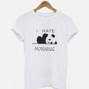 I Hate Morning T-Shirt