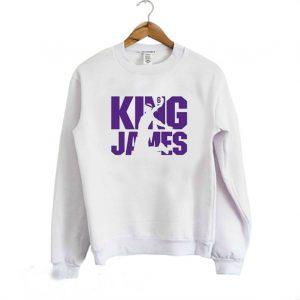 King James Lebron James Men's Sweatshirt
