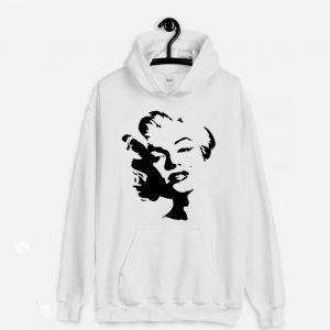 Marilyn Monroe Stencil Hoodie