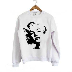Marilyn Monroe Stencil Sweatshirt