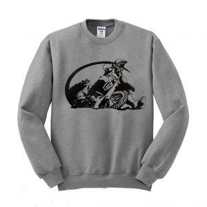 Motocross Rider Sweatshirt