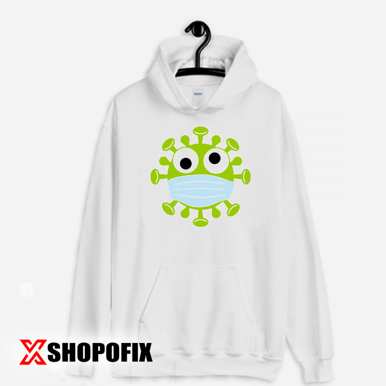 Corona Virus With Mask Hoodie Cheap Online Shopping Sites