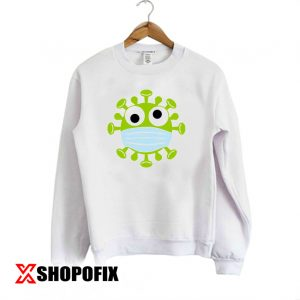 Corona Virus With mask Sweatshirt 300x300 - Home