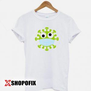 Corona Virus With mask T shirt 300x300 - Home