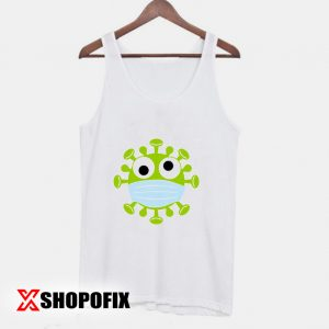 Corona Virus With mask Tanktop 300x300 - Home
