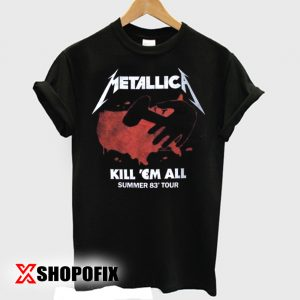 METALLICA Kill Em All Tour VintageT shirt 300x300 - Home
