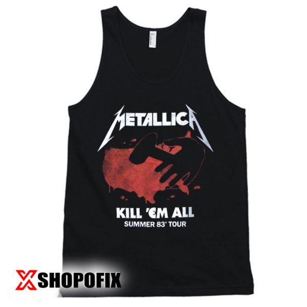 METALLICA Kill Em All Tour VintageTanktop