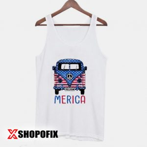 Merica Bus Americana Independence Day Tanktop 300x300 - Home