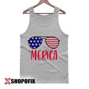 Merica Glasses Independence Day Tanktop 300x300 - Home