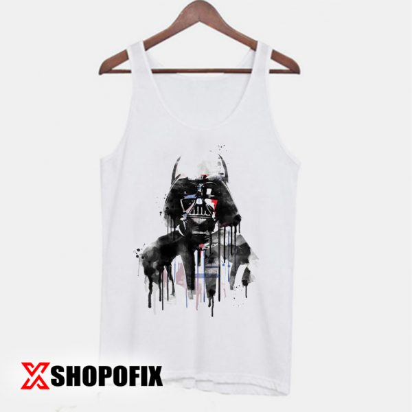 Darth Vader star wars retro movies Tanktop