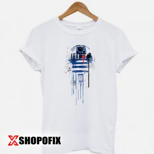 R2D2 Star wars robot Sketch T shirt 300x300 - Home