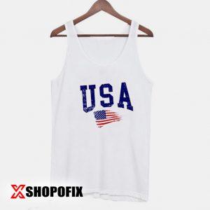 American Flag Tanktop