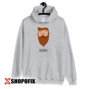 Beardo Tee Hoodie