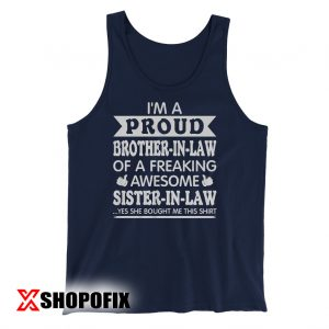 Brother In Law Christmas Tanktop