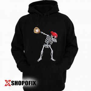 Dabbing Skeleton Baseball Hoodie