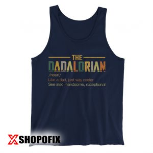 Dadalorian Shirt Tanktop