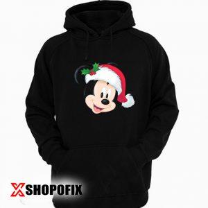 Disney Mickey Mouse in Santa Hat hoodie