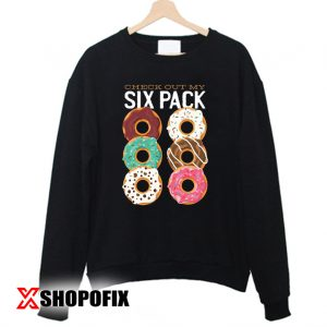 Donut six pack Sweatshirt