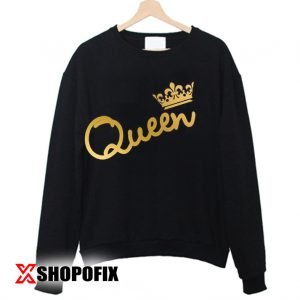 Family shirts King Queen Sweatshirt