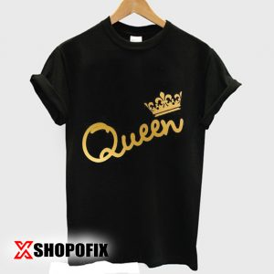 Family shirts King Queen Tshirt