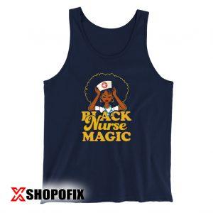 Gift For Black Nurses, Black Nurse Magic TankTop