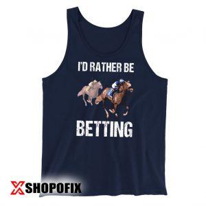 Horse Racing Shirt tanktop