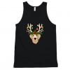 Labrador Retriever Christmas Lights Reindeer Tank top