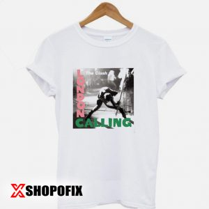 London Calling tshirt