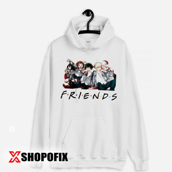 My Hero Academia Friends shirt Hoodie
