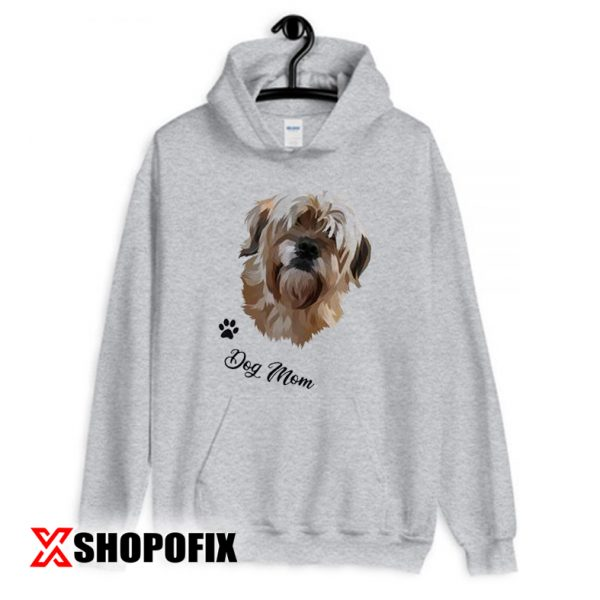 Painting from Photo Dog Mom Hoodie