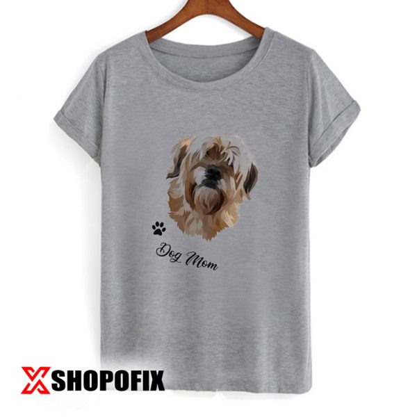 Painting from Photo Dog Mom Shirt T shirt