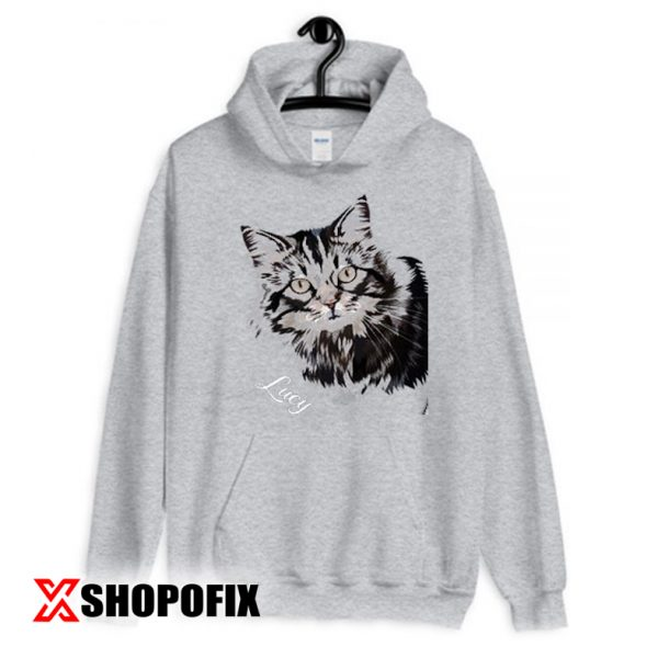 Painting from Photo Cat Shirt Hoodie