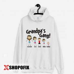Personalized grandpa or dad stick.jpg Hoodie