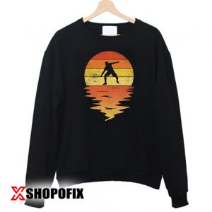 Squash shirt 60s 70s 80s vintage retro sunset Squash Sweatshirt