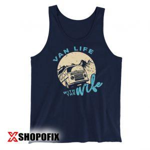 Van Life T Shirt Van Life with the Wife Shirt Outdoor Tankktop