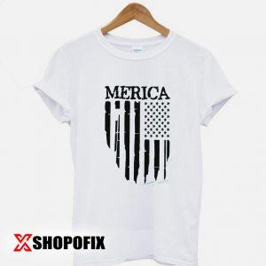 Vertical Merica Tshirt