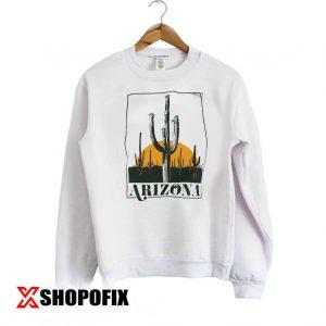 Vintage Inspired Arizona Cactus Sweatshirt