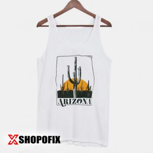 Vintage Inspired Arizona Cactus Tanktop
