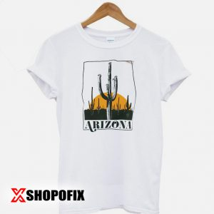 Vintage Inspired Arizona Cactus Tshirt