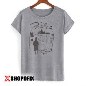 Vintage Praha Franz Kafka Tshirt